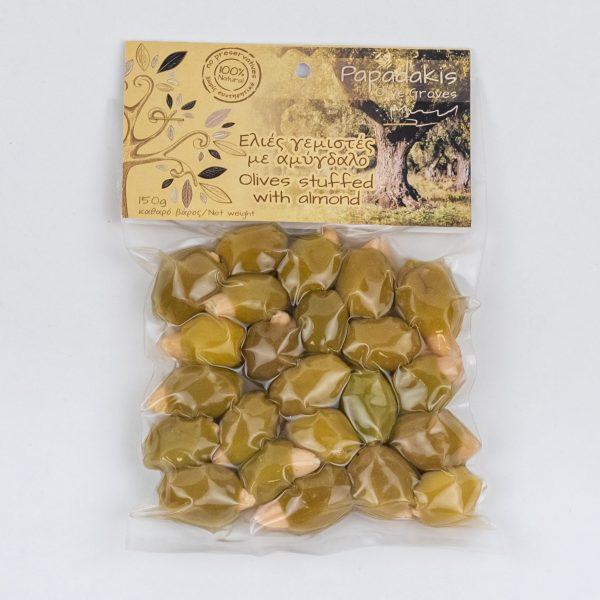 Täidetud oliivid mandlitega 150g
